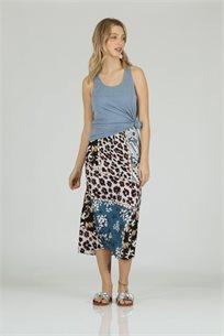 חצאית  פרחונית - CUBiCA