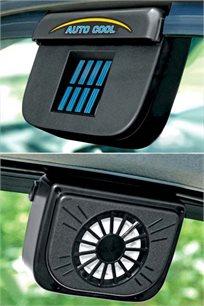 מאוורר סולארי AUTO COOL להורדת טמפרטורת החום ברכב באופן משמעותי
