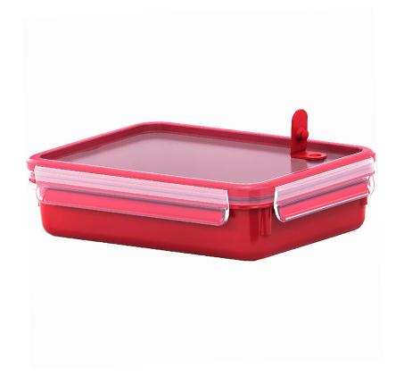קופסת פלסטיק אטומה 1.2 ליטר המתאימה גם למיקרו