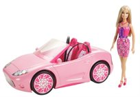 דגם 2012 הגיע! מכונית הברבי גלאם החדשה ובובת ברבי תואמת