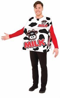 תחפושת חלב  מבוגרים M 42-44 מבוגרים