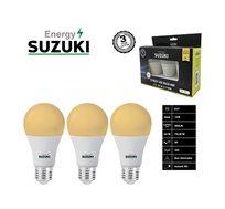 מארז 3 נורות LED בצבעים לבחירה SUZUKI Energy
