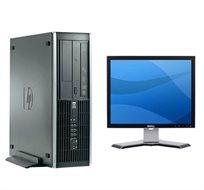 """מערכת מחשב נייח מתקדמת מבית Hp עם מעבד i5 + מסך איכותי """"LCD 19 מתנה!"""