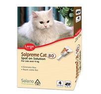4 טיפות נגד פרעושים סולפרם לחתולים