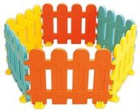 """גדר מודולארית ארוכה 6 חלקים מפלסטיק קשיח 450 ס""""מ"""