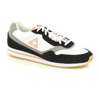נעלי סניקרס LE COQ SPORTIF LOUISE SUEDE NYLON/GUM לנשים - לבן/שחור/אפור