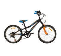 אופני הרים בצבע שחור וכחול