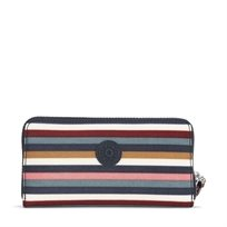 ארנק גדול - Alia Multi Stripes  פסים צבעוניים משולב