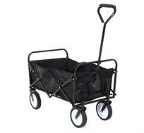 עגלה מתקפלת עם גלגלים לקניות, טיולים ולילדים במגוון צבעים לבחירה דגם PULLY