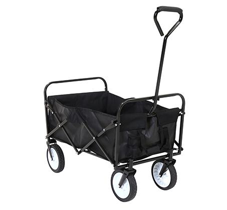 מודרני עגלה מתקפלת עם גלגלים לקניות, טיולים ולילדים במגוון צבעים לבחירה UA-49