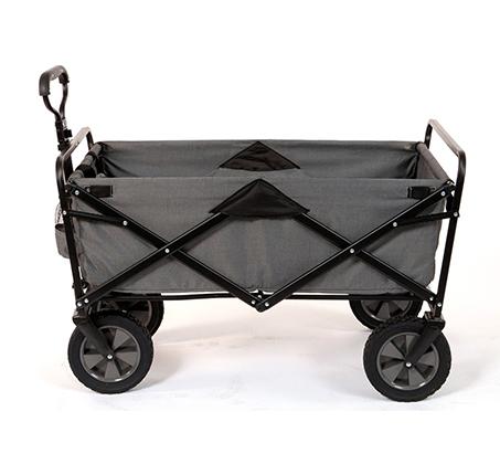 מסודר עגלה מתקפלת עם גלגלים לקניות, טיולים ולילדים במגוון צבעים לבחירה QE-37