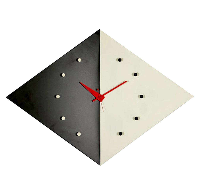 שעון קיר אנלוגי דגם KITE עשוי אלומיניום