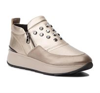 נעלי נשים GEOX מעוטרות בניטים D GENDRY A - NAPPA+GEOBUCK - צבע לבחירה