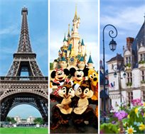 פסח צרפתי ביותר! 7 או 10 לילות בעמק הלואר, דיסני ופריז כולל מגוון אטרקציות מהנות החל מכ-€999* לאדם!