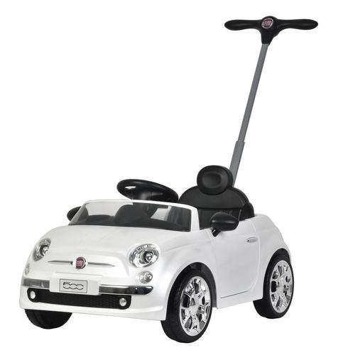 בימבה דחיפה בדמות Fiat 500 - לבן