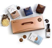 מארז מזוודה שוקולדים וליקר  Roy Chocolate