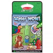 חוברת טוש מים חיות