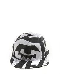 כובע מצחייה שחור לבן