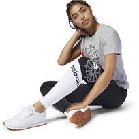 טייץ ספורטיבי ריבוק נשים- Ac Logo Legging שחור