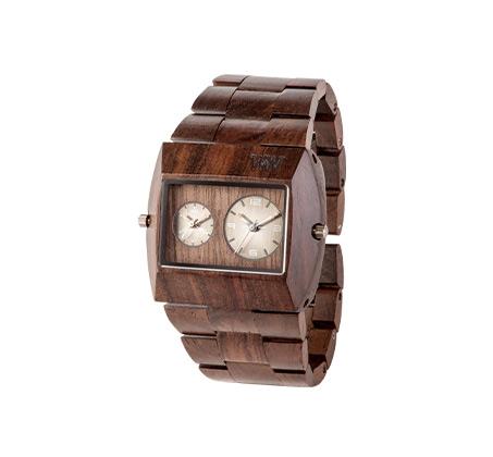 שעון עץ איטלקי Jupiter RS Chocolate
