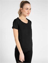 ARENA נשים // חולצת אירובי שחור