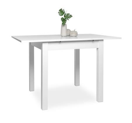 שולחן נפתח COBURG לפינת אוכל בגוונים אלון ולבן  - תמונה 3