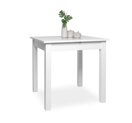 שולחן נפתח COBURG לפינת אוכל בגוונים אלון ולבן  - תמונה 2