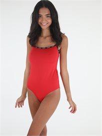 בגד גוף ליוויס אדום לנשים - Levi's Paige Bodysuit