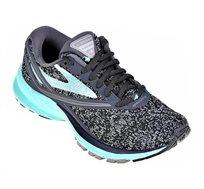 נעלי ריצה Brooks לאישה דגם Launch 4 בצבעי שחור/טורקיז