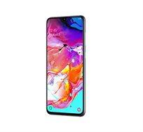 """סמארטפון Samsung Galaxy דגם A70 מסך """"6.7 אחסון 128GB+6GB RAM מצלמה אחורית 32+5+8MP כיסוי + מגן מתנה"""