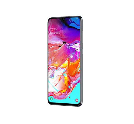 """סמארטפון Galaxy A70 מסך """"6.7 אחסון 128GB+6GB RAM אחריות יבואן רשמי"""