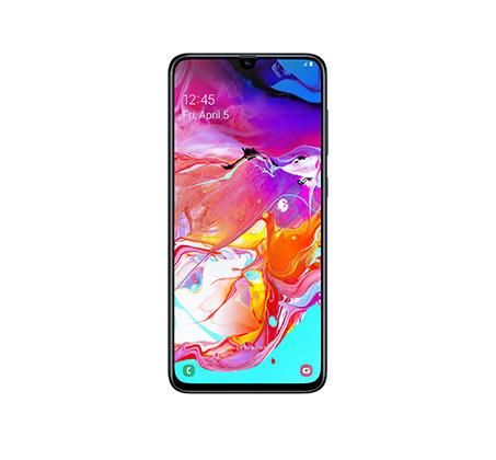 סמארטפון Samsung Galaxy דגם A70 מסך