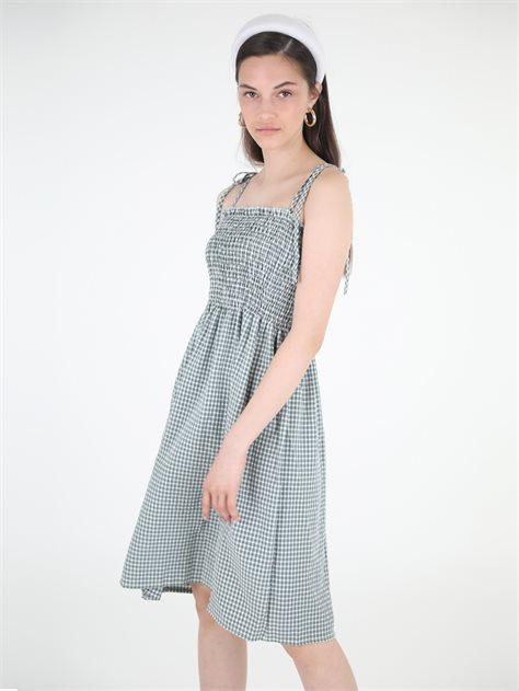 שמלה מידי ריילי ירוק סטייל ריבר