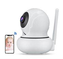 מצלמת אבטחה Wanscam K21 אלחוטית כולל מעקב פנים וזום דיגיטלי *4 1080P 2M