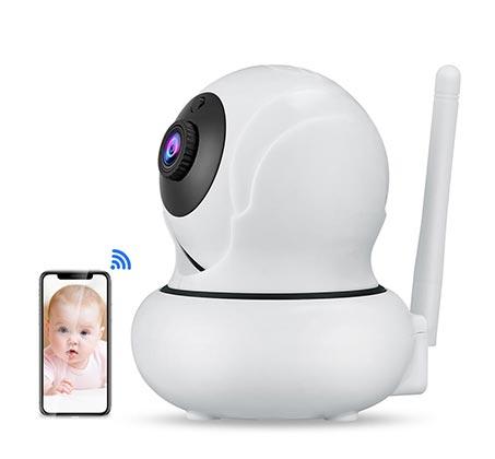 מצלמת אבטחה K21 אלחוטית כולל מעקב פנים וזום דיגיטלי *4 1080P 2M