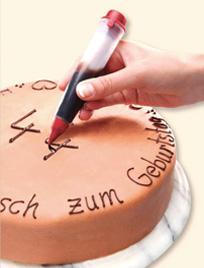 עט לקישוט עוגות