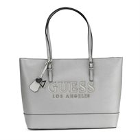 GUESS// CHANDLER TOTE SILVER