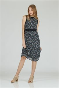שמלה שיפון מידי - CUBiCA