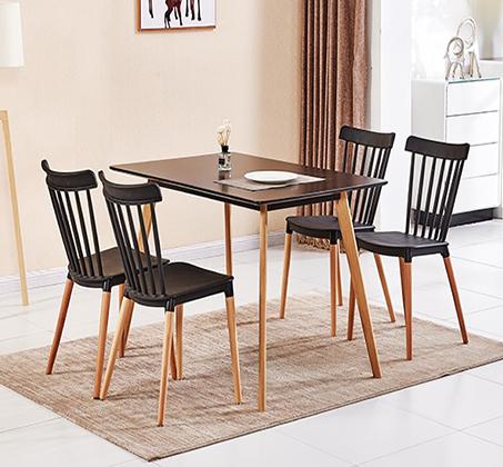כסא לפינת אוכל בעיצוב מודרני בצבעים לבחירה  - תמונה 3