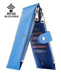 Lambo Wallet Multi Card Case Light Blue