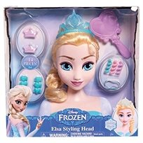 ראש בובה עיצוב שיער אלזה