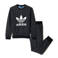 adidas חליפת פוטר (11-7 שנים)- אפור