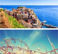 פיצה ופסטה - טיול מאורגן למשפחות בצפון איטליה ל-8 ימים כולל הגרדלאנד גם בחגים החל מכ-$959* לאדם!