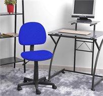 כסא מרופד לתלמיד עם משענת קפיצית ומנגנון הגבהה נוח במיוחד