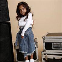 ORO חצאית ג'ינס (5-6 שנים) - כחול