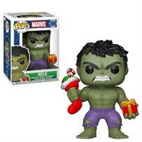 Funko Pop - Holiday Hulk (Marvel) 398 בובת פופ