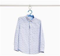 חולצה מכופתרת ארוכה OVS לילדים - פסים כחול בהיר