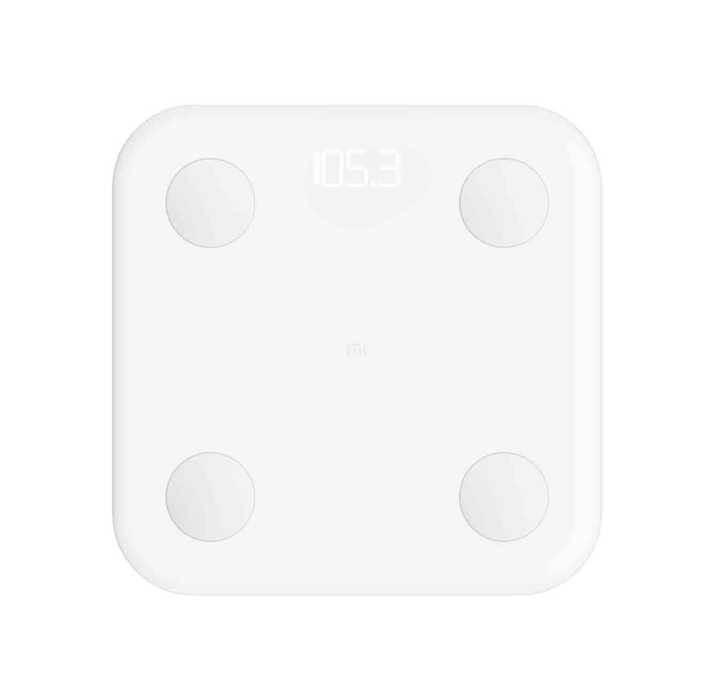 משקל חכם דור 2  Xiaomi דגם Mi Body Composition Scale עם מדידה חכמה של 10 פרמטרים שונים תצוגת לד - משלוח חינם - תמונה 2