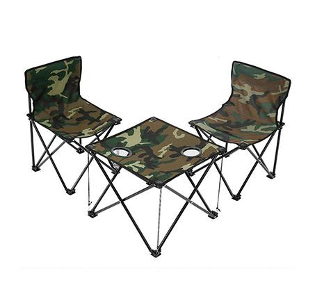 סט במאים הכולל זוג כיסאות במאי מתקפלים + שולחן