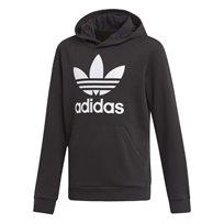 Adidas ילדים // Trefoil Hoodie Black